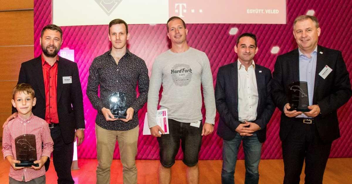 Elnyertem a Hulladékvadásszal 2018-ban, a Magyar Telekom Delfin díját is.
