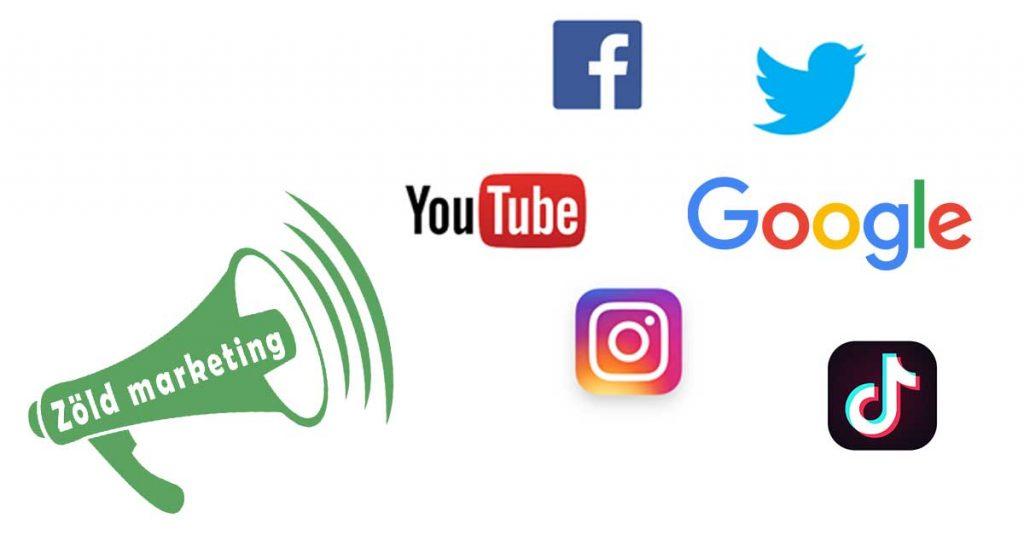 A zöld online marketing kiemelt terepe a közösségi média, ahol ha nem vagy jelen szinte nem is létezel.