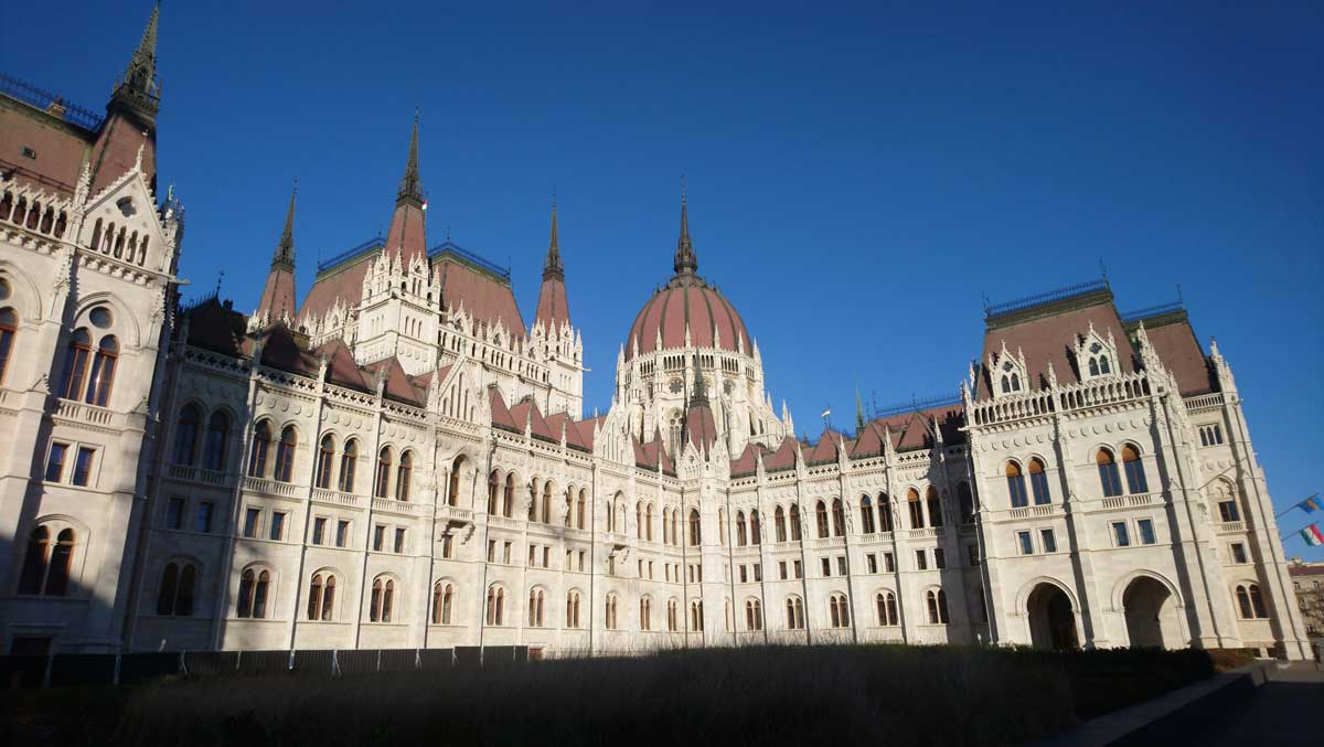 Budapest talán legszebb épülete, a Parlament.