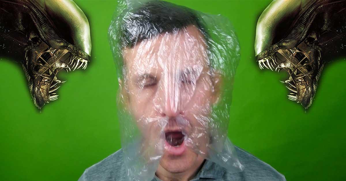 Műanyag zacskó maga a halál (videóval)
