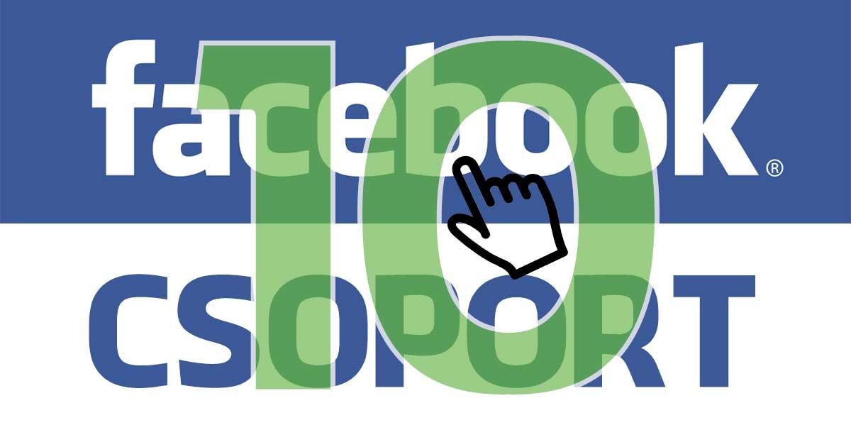 10 zöld facebook csoport