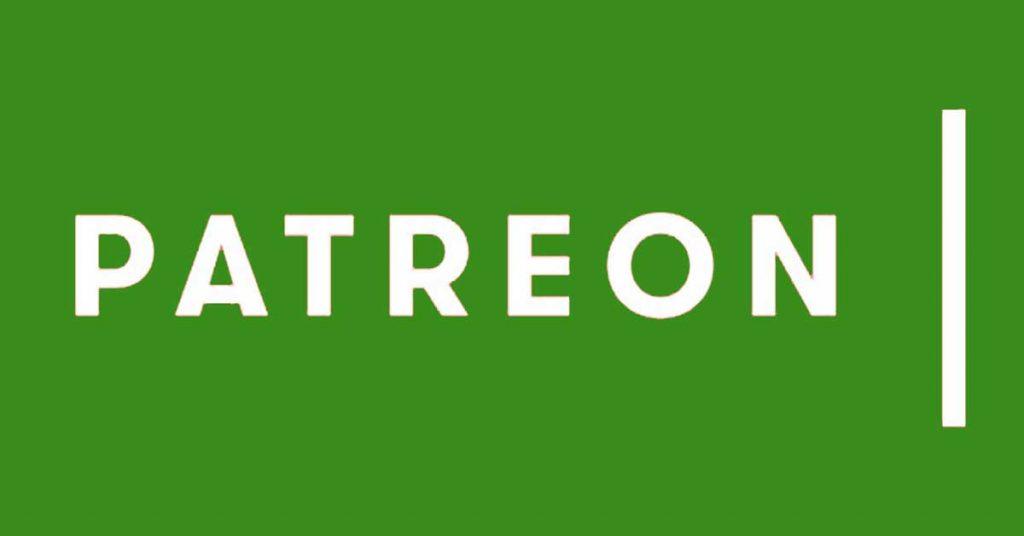 A Patreon logója. Külföldön több ezer alkotót támogatnak az emberek rajta keresztül, de idehaza?