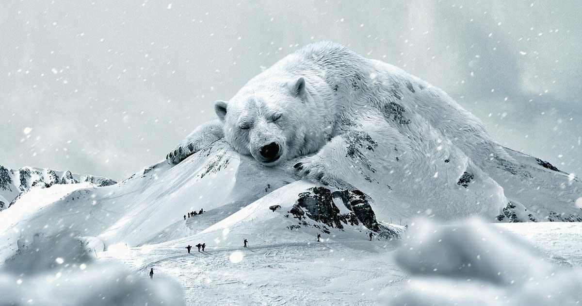 Jégtakaró olvadása, jegesmedve kihalása és a metán