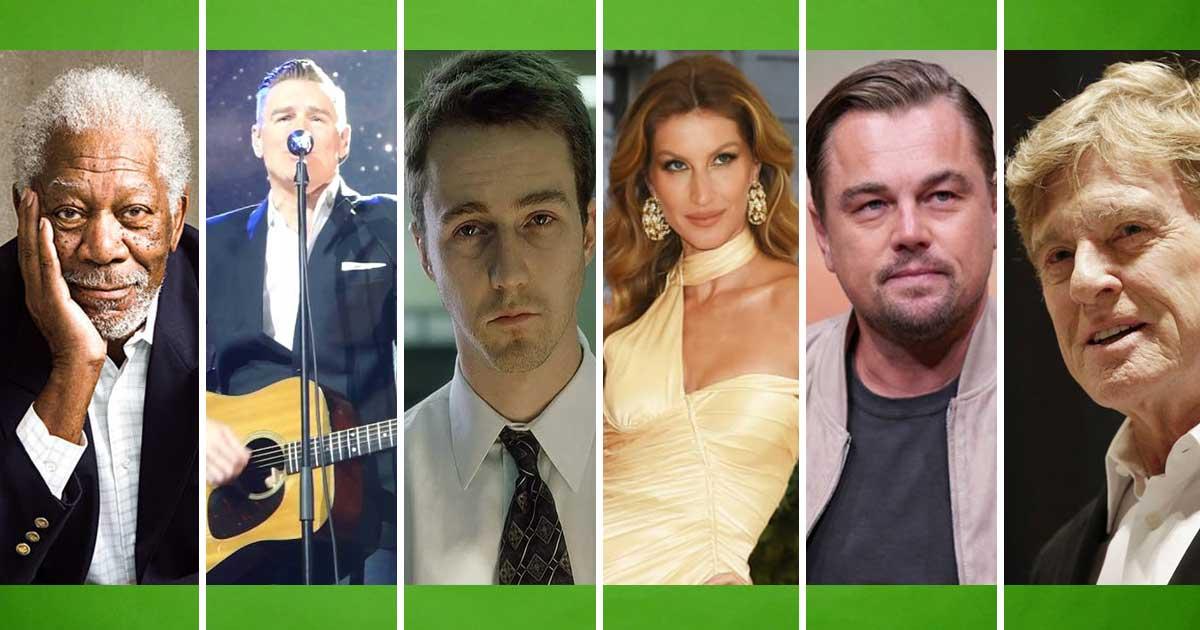 10 világsztár, akiknek fontos a környezetvédelem!