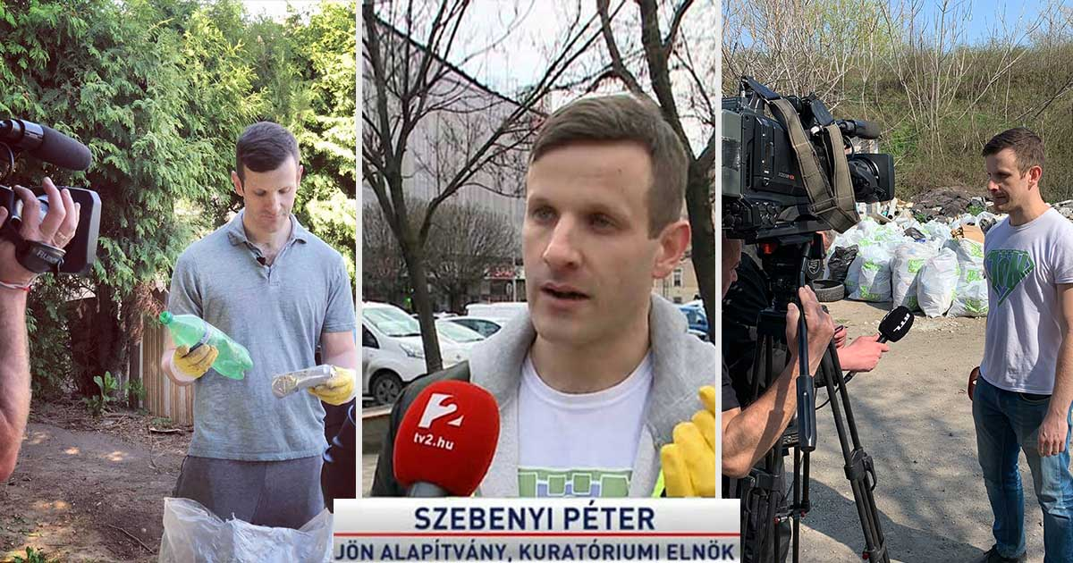 """Rendszeres szereplő vagyok """"környezetvédelmi influencerként"""" a magyarországi médiában."""