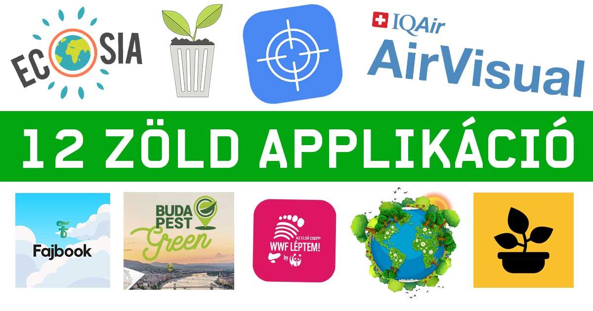 zöld-applikáció