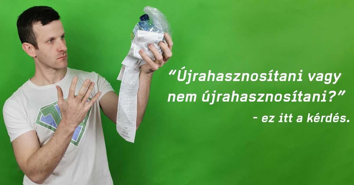 Újrahasznosítható műanyagok fajtái