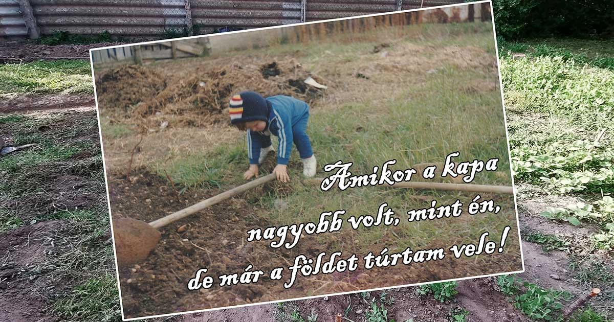 Kisgyerek korom óta kertészkedek és a gyomirtás a véremben van.