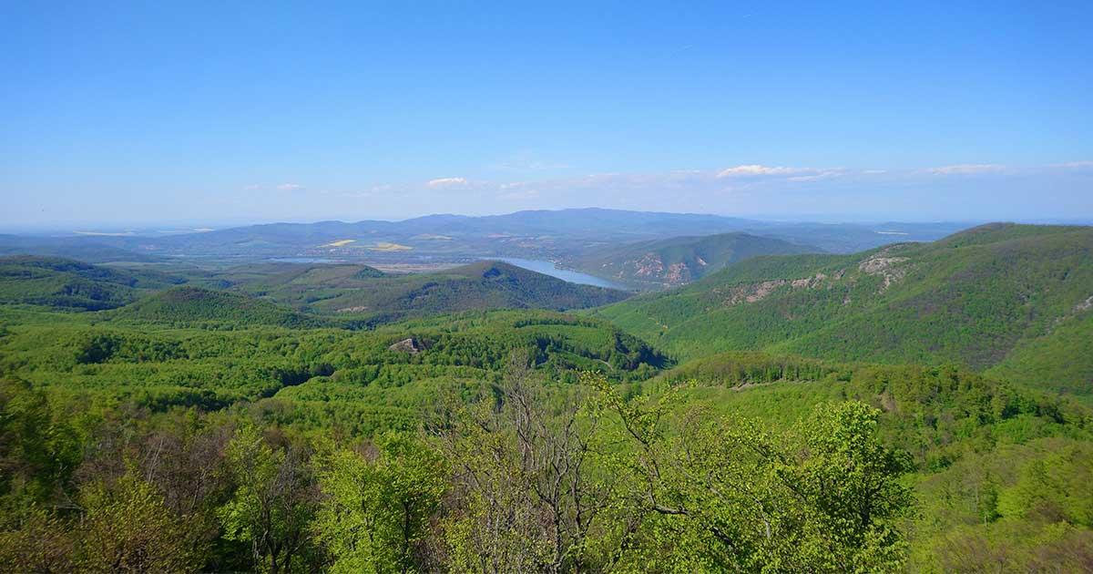 Pilis hegyei és a Dunakanyar