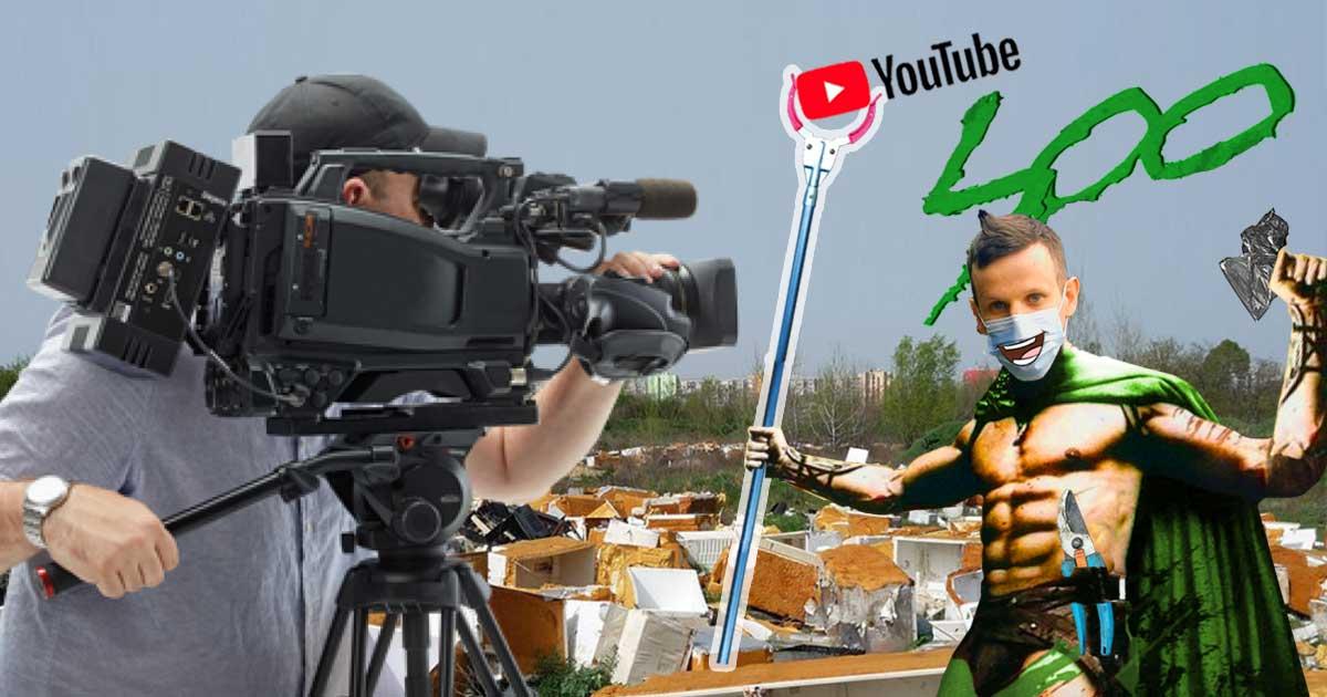 Zöld Youtuber környezetvédelem