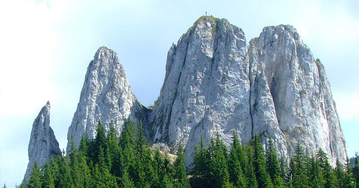 Egyes-kő Erdélyben, Hargita megyében. / Fotó: wikipedia.