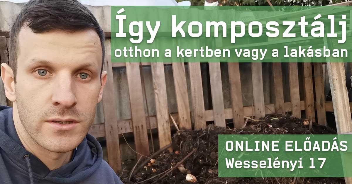Így komposztálj! - Online előadás | Wesselényi 17 1