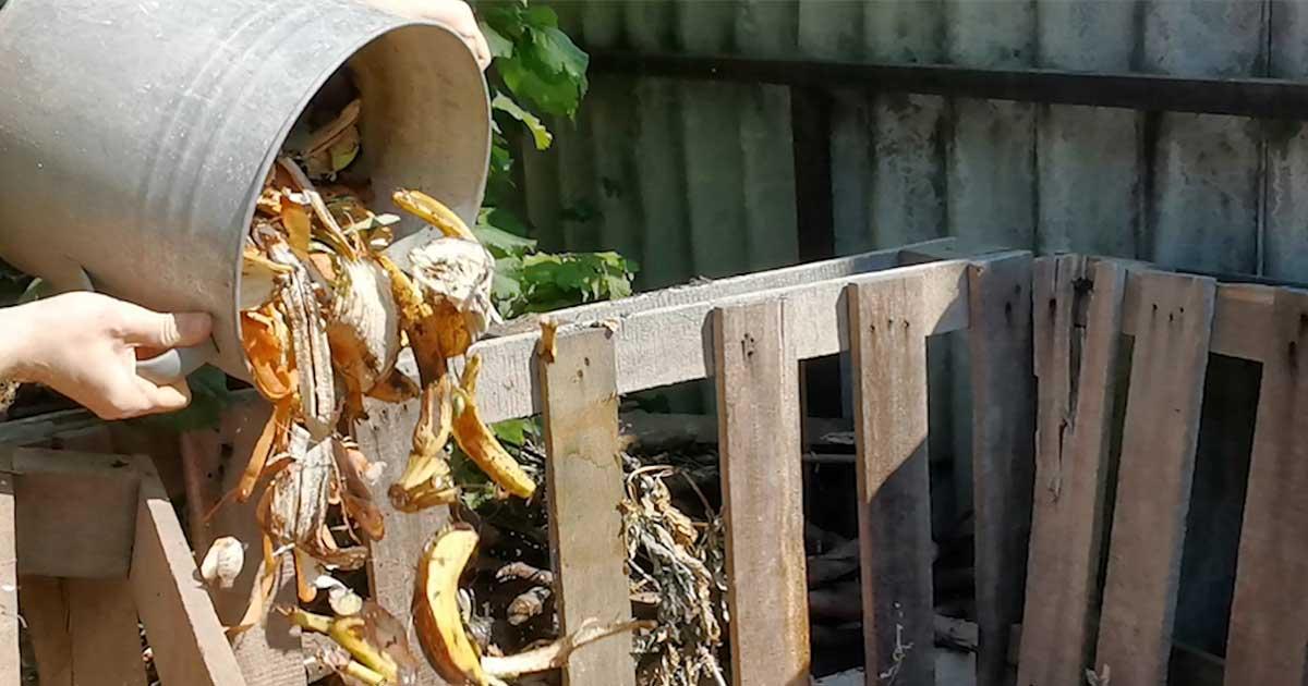 A komposztálás otthon kiemelten fontos.