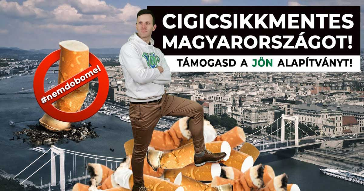 Tegyünk együtt a Cigicsikkmentes Magyarországért!