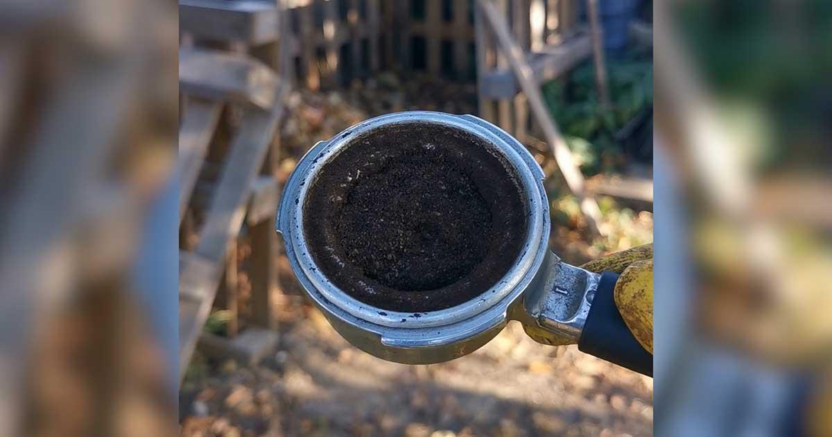 A kávázás hulladéka, a kávézacc is komposztálható.