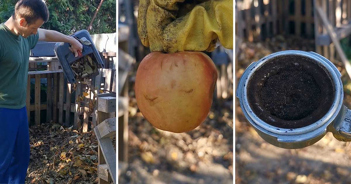 Komposztálható anyagok a háztartásokban
