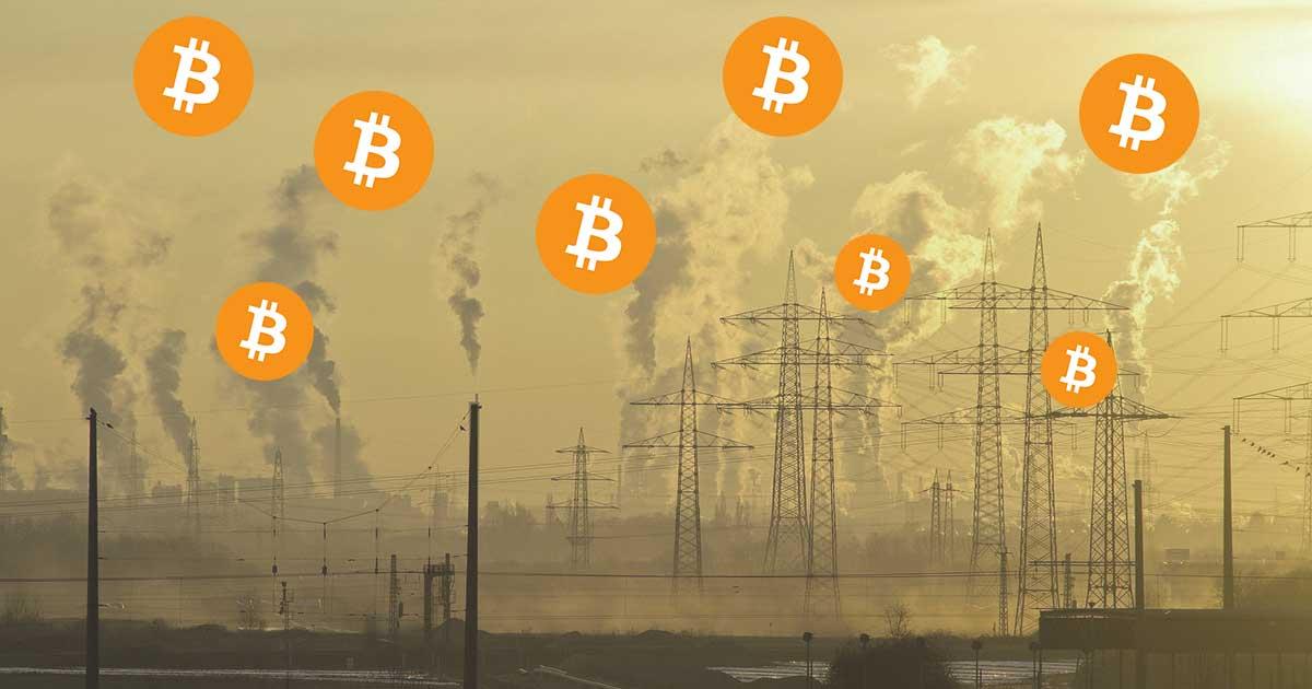 bitcoin környezetszennyező
