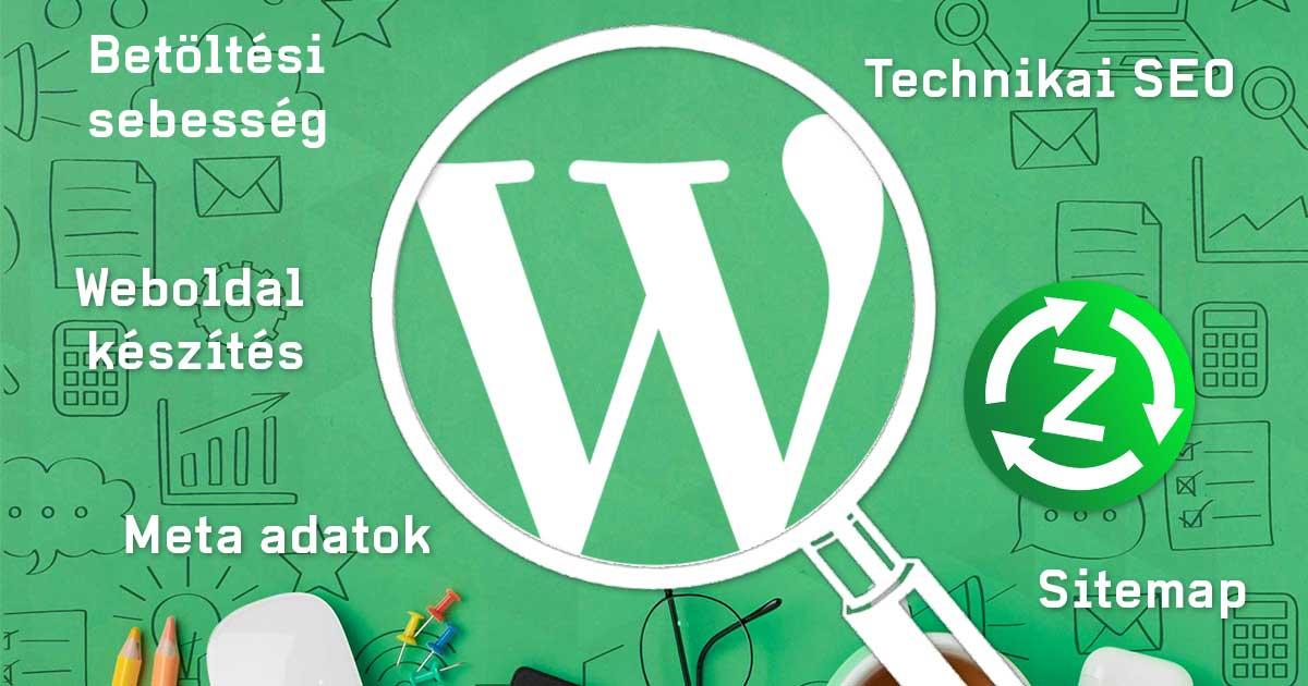 Wordpress weboldal készítés