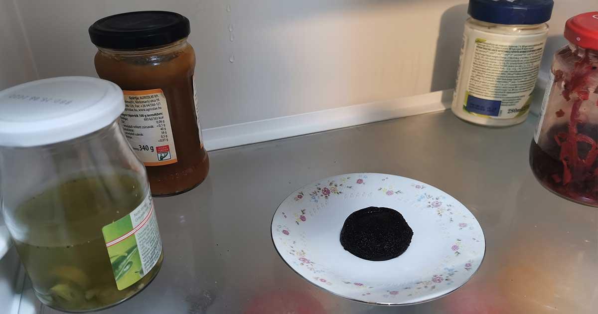 Kávézacc felhasználása a hűtőben.