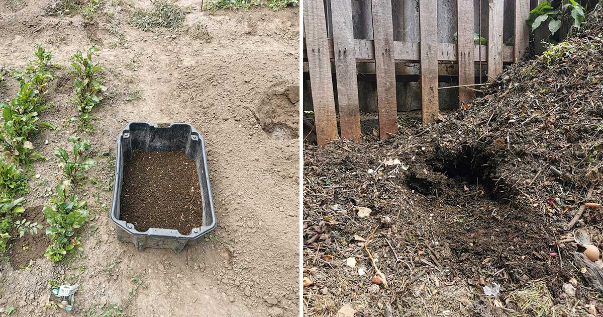Komposzt szita rosta