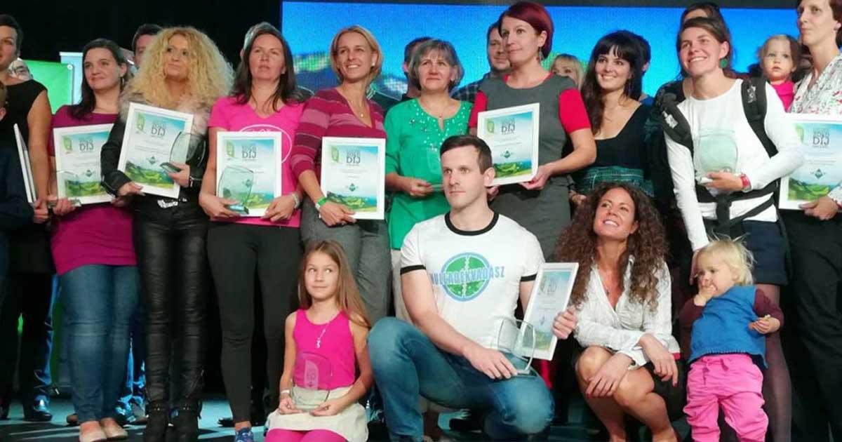 Ozone Tv Zöld díj.