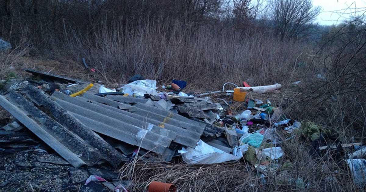 Azbesztmentesítés - hullámpala leadás