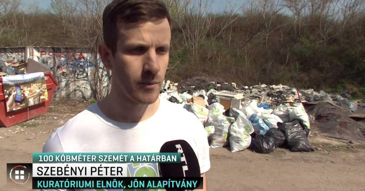 Felsőszentiván hulladék szebenyi péter rtl
